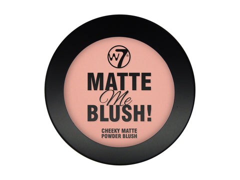 W7 Matte Me Blush Up Above - districtglitz.com