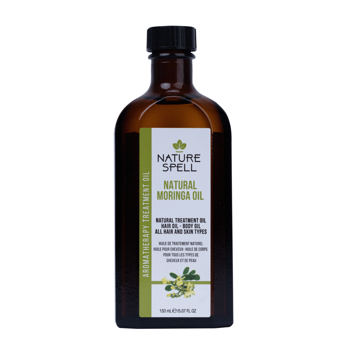 NATURE SPELL Moringa Oil For Hair & Body