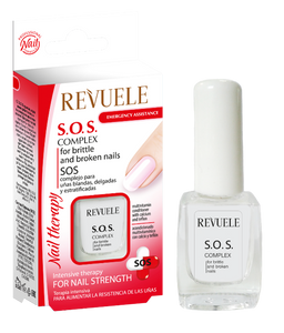 Revuele S.O.S. Complex for Soft, Thin and Stratified Nails - districtglitz.com