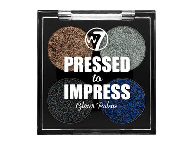 W7 Pressed to Impress Glitter Palette Style Icon