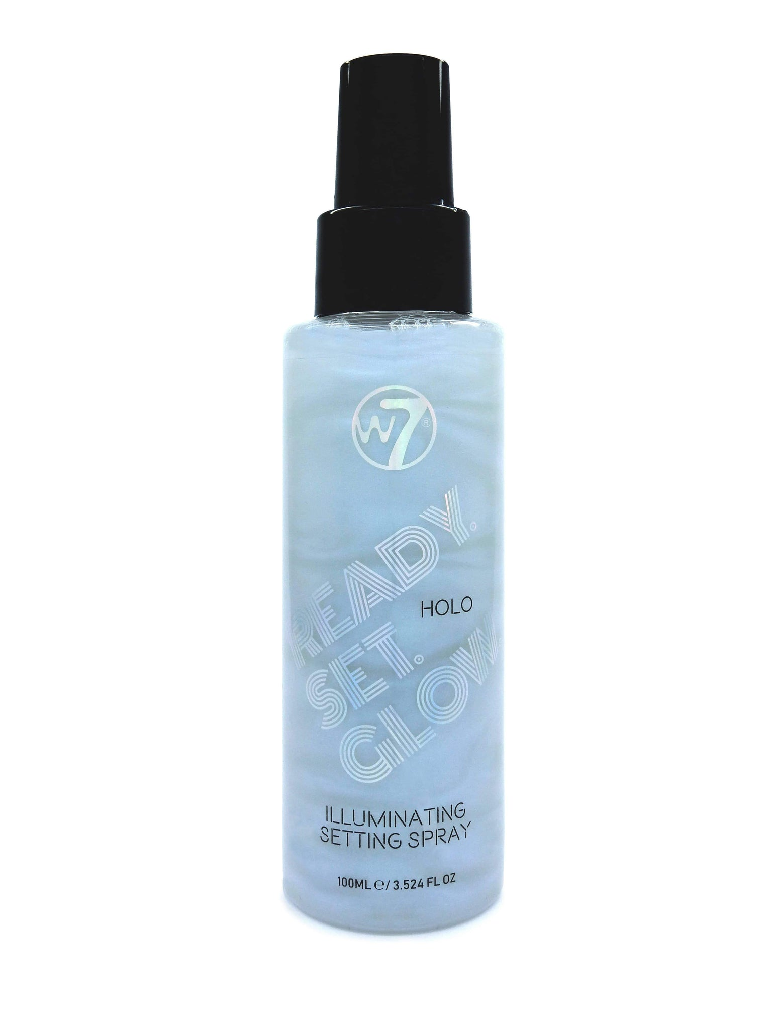 W7 Ready/Set/Glow - Illuminating Setting Spray Holo - districtglitz.com