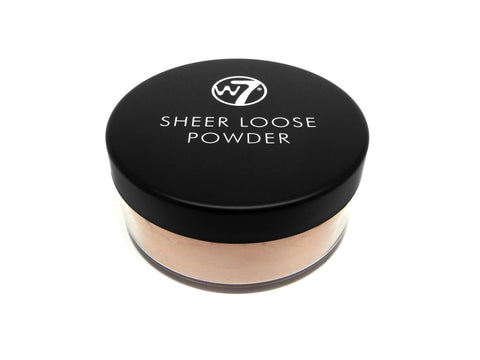 W7 Sheer Loose Powder  Ivory - districtglitz.com
