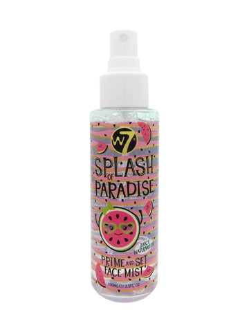 W7 Splash of Paradise - Prime and Set Face Mist Juicy Watermelon - districtglitz.com
