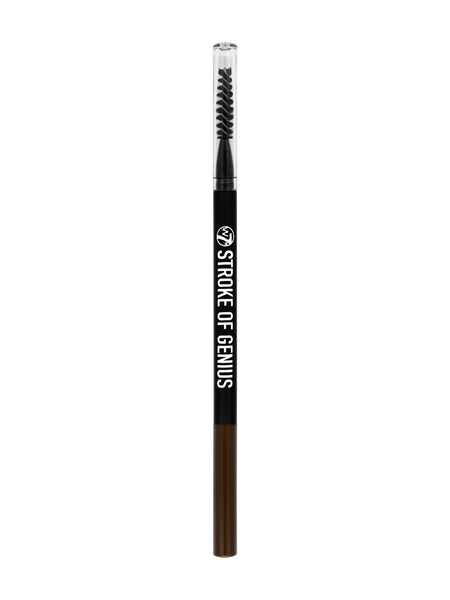 W7 Stroke of Genius Microblade Brow Pencil Dark Brown - districtglitz.com