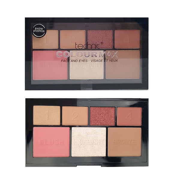 Technic Colour Max Face and Eyes Palette Show Stopper - districtglitz.com