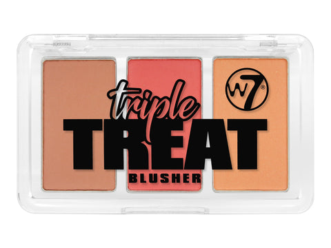W7 Triple Treat Blusher Lights-Camera-Action - districtglitz.com