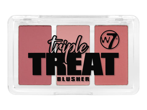 W7 Triple Treat Blusher Live-Laugh-Love - districtglitz.com