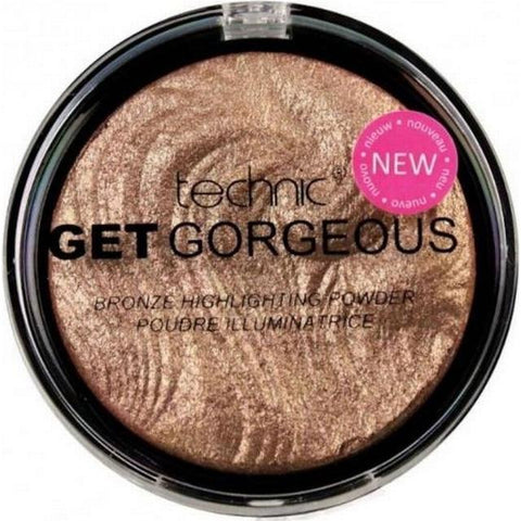 Technic Get Gorgeous Bronzing Highlighter - districtglitz.com
