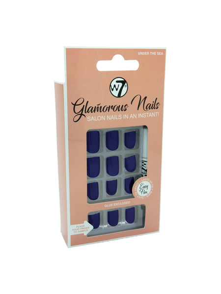 Glamorous Nails Stick On Nails - Under The Sea - districtglitz.com