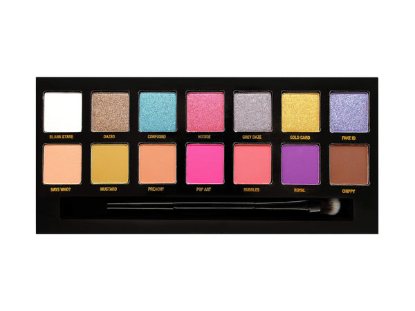 W7 Whatever! Eyeshadow Palette - districtglitz.com