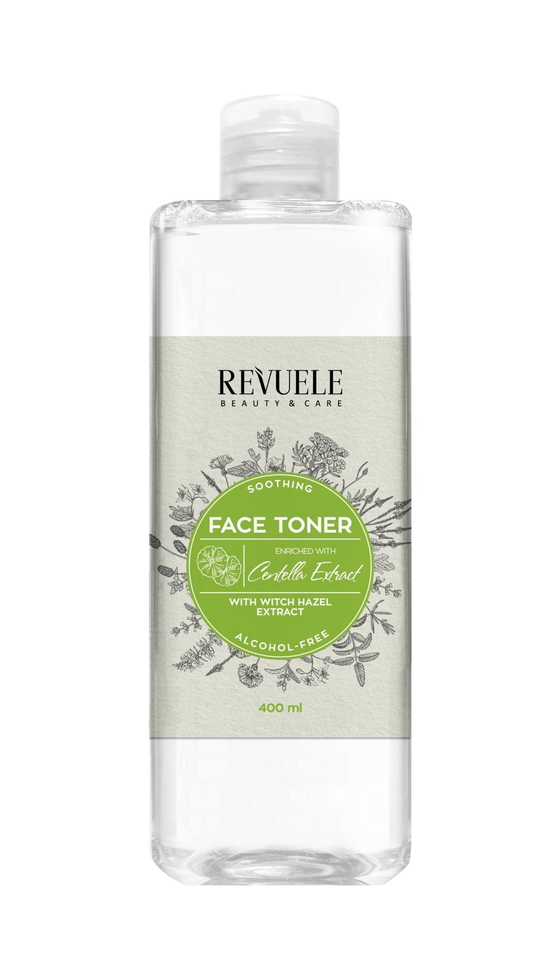 REVUELE WITCH HAZEL TONER with Centella Extract - districtglitz.com