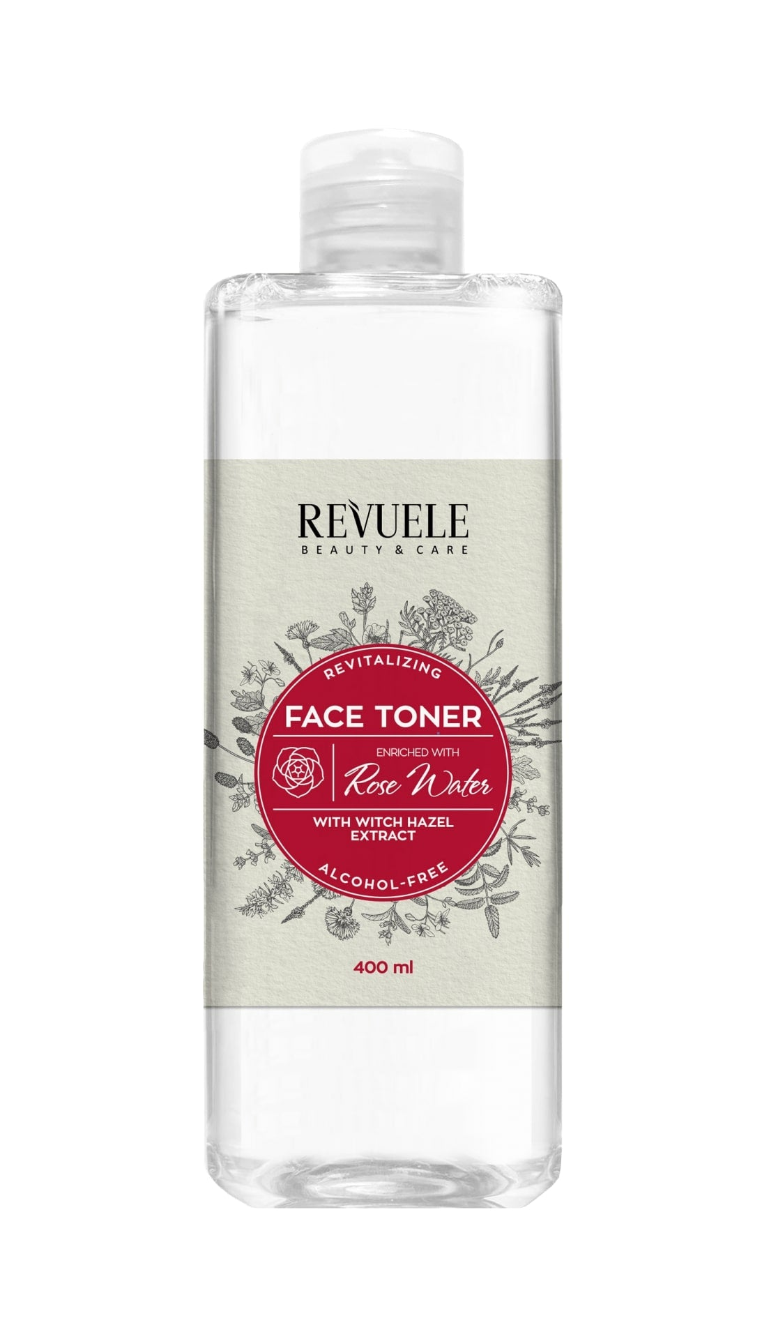 REVUELE WITCH HAZEL TONER with Rose Water - districtglitz.com