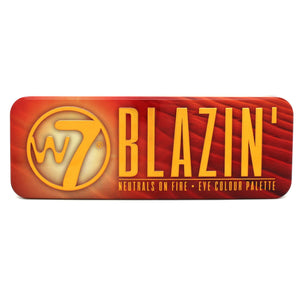 W7 Blazin' - Neutrals on Fire Eye Colour Tin - districtglitz.com