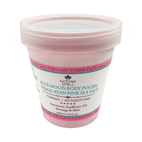 NATURE SPELL Blue Moon Himalayan Pink Sea Salt Body Scrub