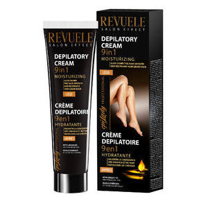 REVUELE Depilatory Cream 9in1 Moisturizing for Legs with Argan oil & Hyaluronic acid - districtglitz.com