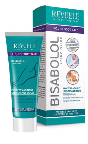 REVUELE Professional Care Liquid Foot Talc - districtglitz.com