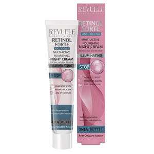 REVUELE Retinol Forte Multi-Active Nourishing Night Cream - districtglitz.com