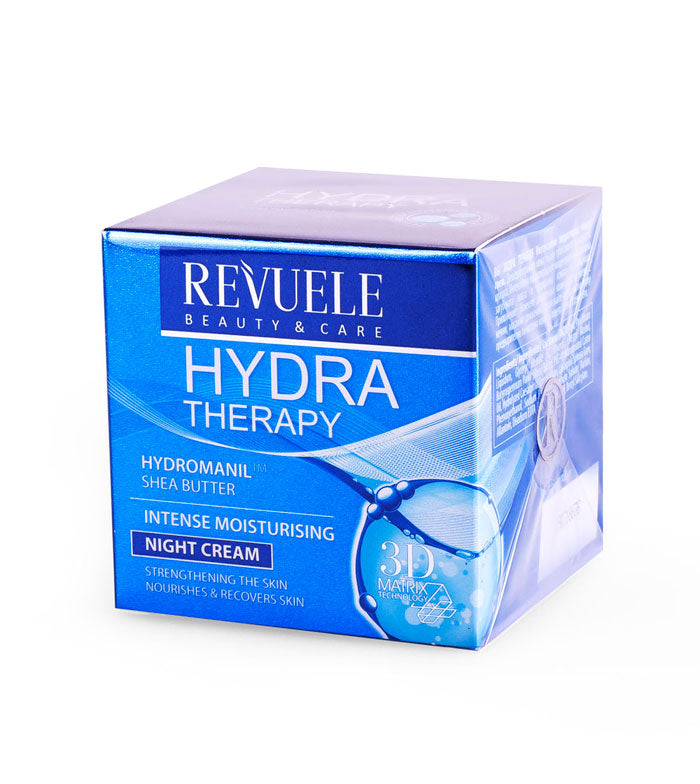REVUELE Hydra Therapy Intense Moisturizing Night Cream - districtglitz.com
