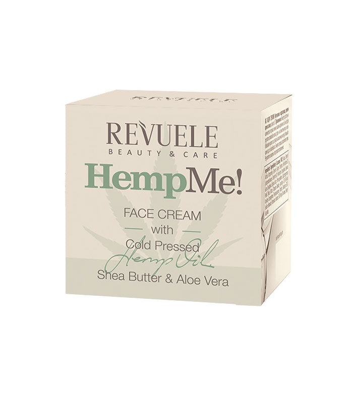 REVUELE Hemp me! Facial Cream - districtglitz.com