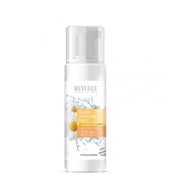 REVUELE Soft Cleansing Foam with chamomille infusion - districtglitz.com
