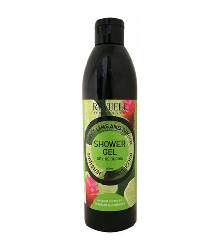 REVUELE Fruit Skin Care Sweet Lime and Ginger Shower Gel - districtglitz.com