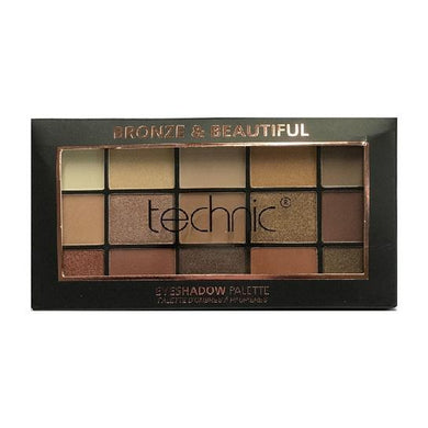 Technic 15 Eyeshadows - BRONZE AND BEAUTIFUL