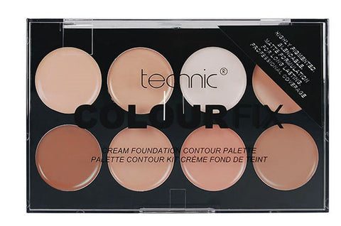 Technic Colour Fix Cream Foundation Contour Palette - districtglitz.com