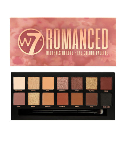 W7 Romanced Eye Colour Palette - districtglitz.com