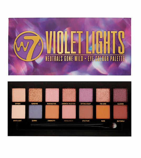 W7 Violet Lights - Eye Colour Palette - districtglitz.com