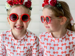 Bella Sunglasses in Cherry
