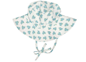 Signature Sun Hat in Blue Posy
