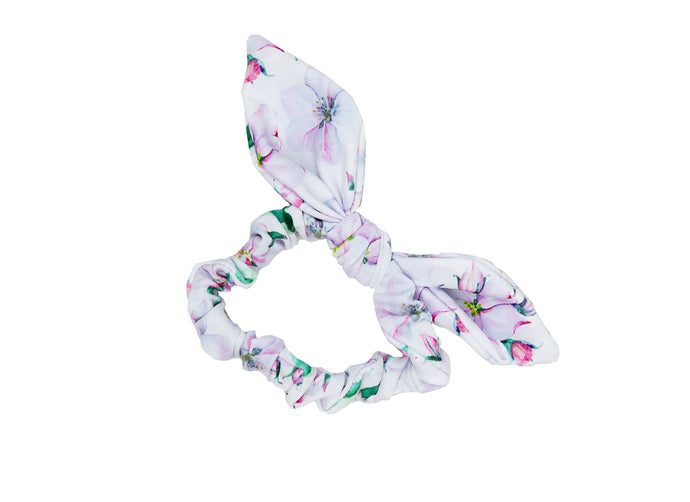 Girls scrunchie in Floral Whisper