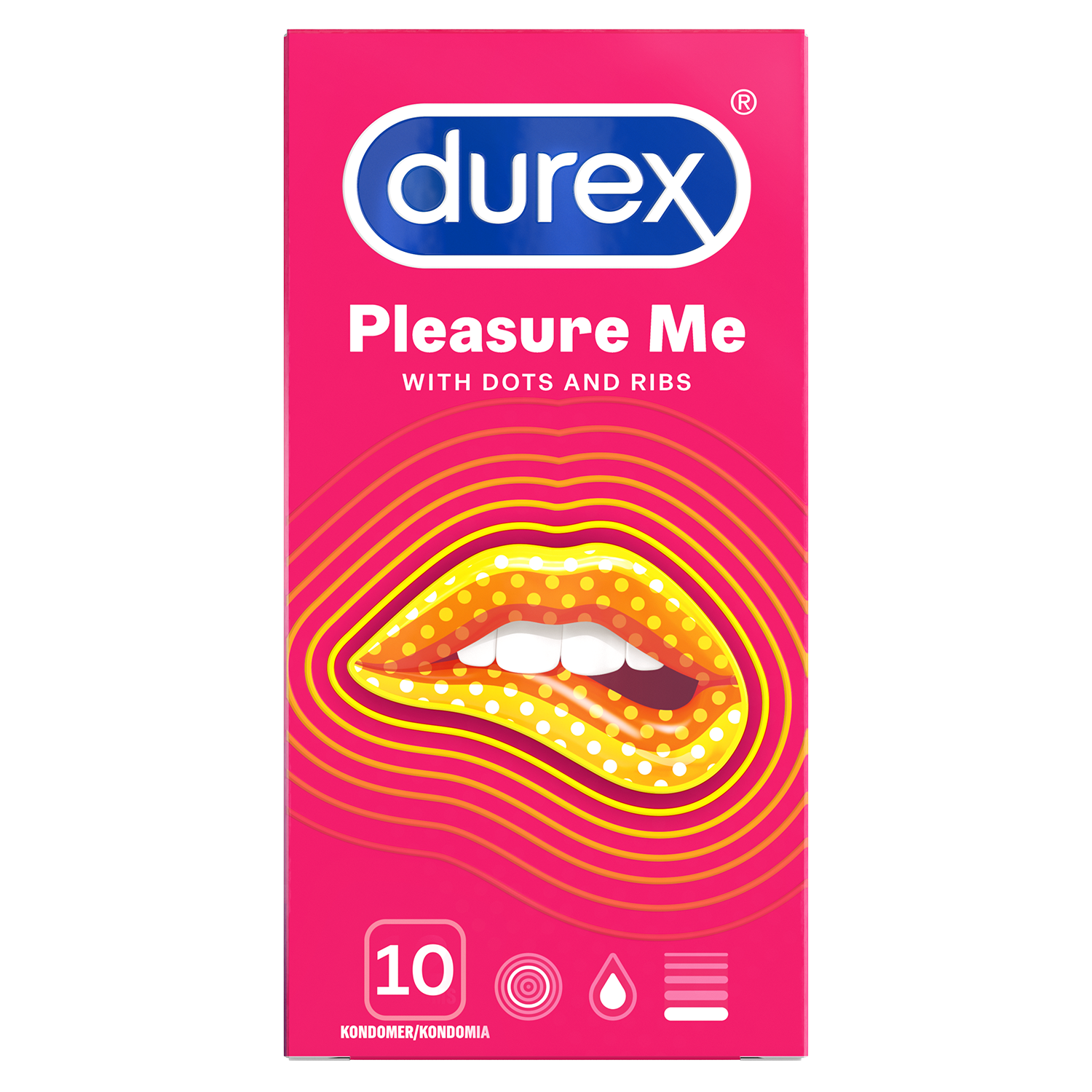 Durex Pleasure Me 10 stk.