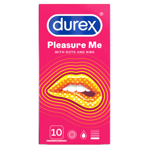 Durex Pleasure Me 10 kpl.
