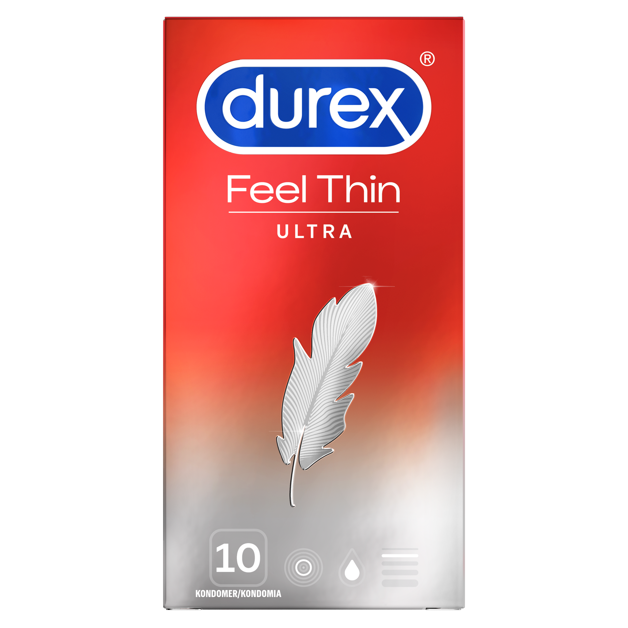 Durex Feel Ultra Thin 10 st.