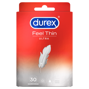 Durex Feel Ultra Thin kondomer 30 st.