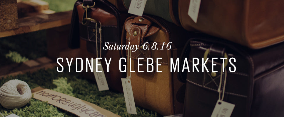 Sydney Glebe Markets | No More Ugly Camera Bags