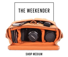 No More Ugly Camera Bags | Shop Large - The Weekender