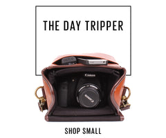 No More Ugly Camera Bags | Shop Large - The Day Trip