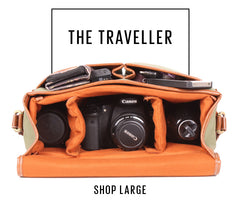 No More Ugly Camera Bags | Shop Large - The Traveller