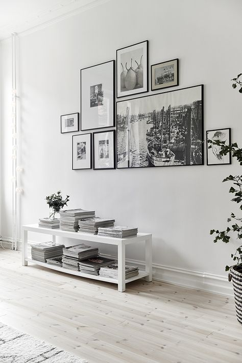No More Ugly Blog | Be sophisticated and actually hang your frames