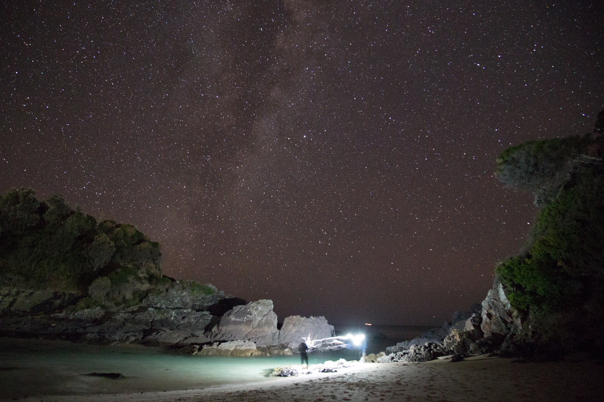 How to Photography Stars at Night | Fisherman at Seal Rocks, Australia