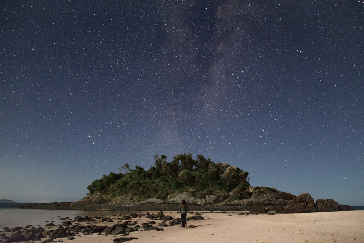 Seal Rocks Australia | How to Photography Stars at Night