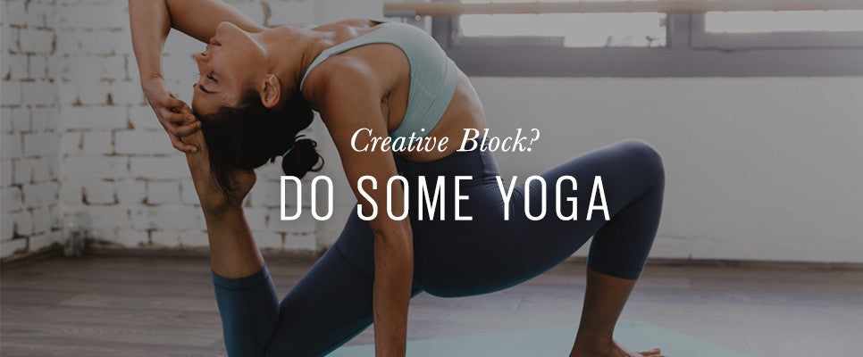 No More Ugly Blog | How Yoga can Help Creative Block