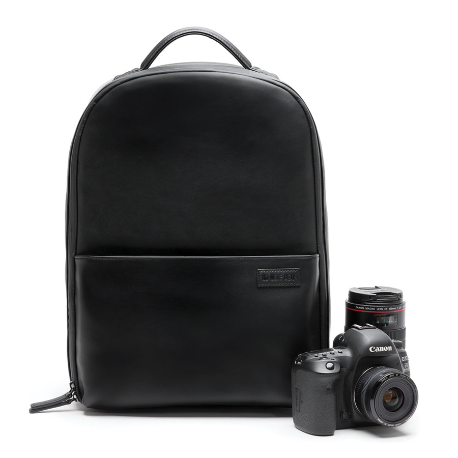 No More Ugly Camera Backpack Black