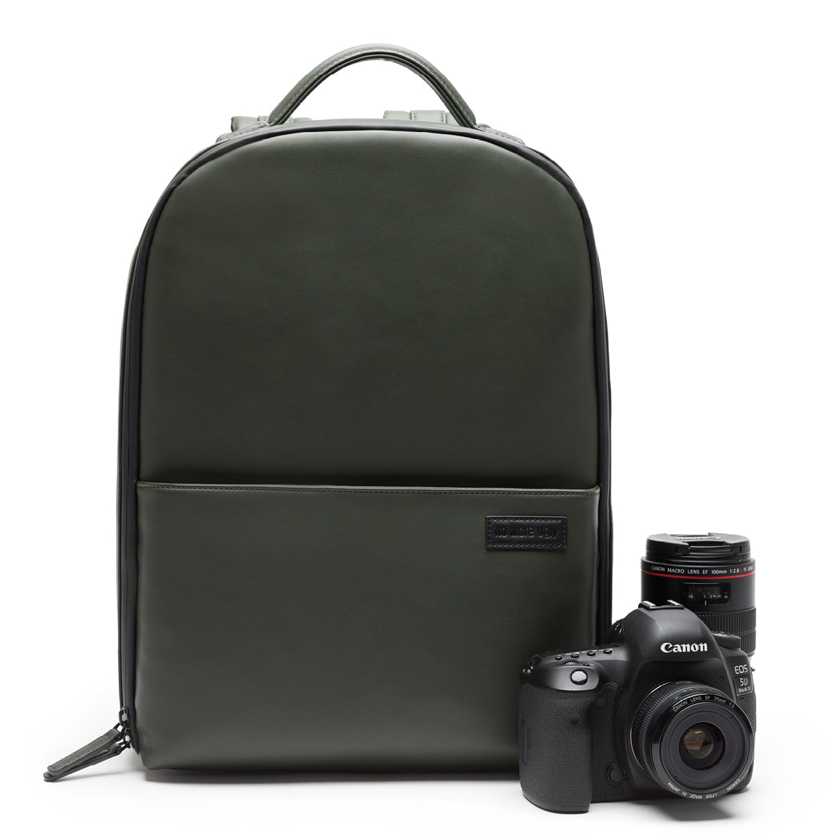 No More Ugly Camera Backpack Pine Green