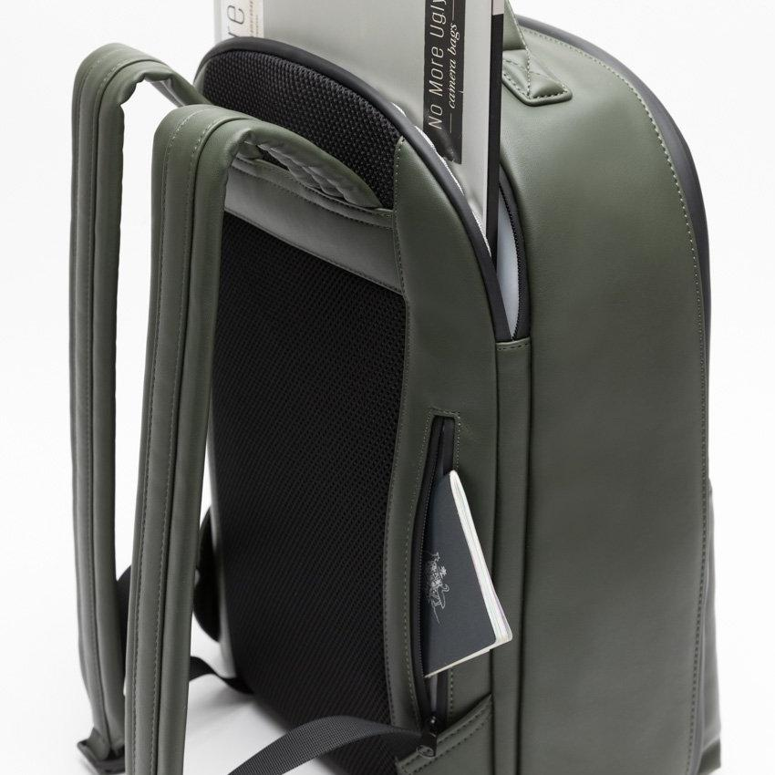 camera backpack - laptop and passport pocket