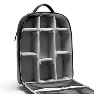 Camera backpack with removable compartments by No More Ugly