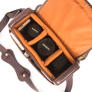 The Traveller DSLR Camera Bag With Handle - Large