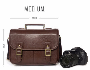 The Weekender DSLR Camera Bag With Handle - Medium